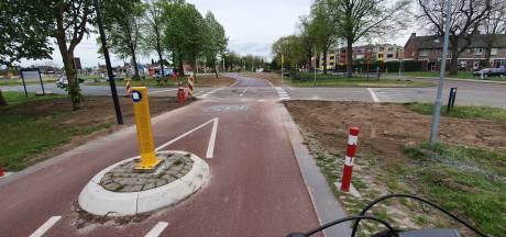 Klein stukje F35 in Hengelo doorgetrokken: nooit meer slalommen naar de verkeerslichten