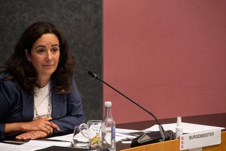 Burgemeester Femke Halsema. Beeld Maarten Brante