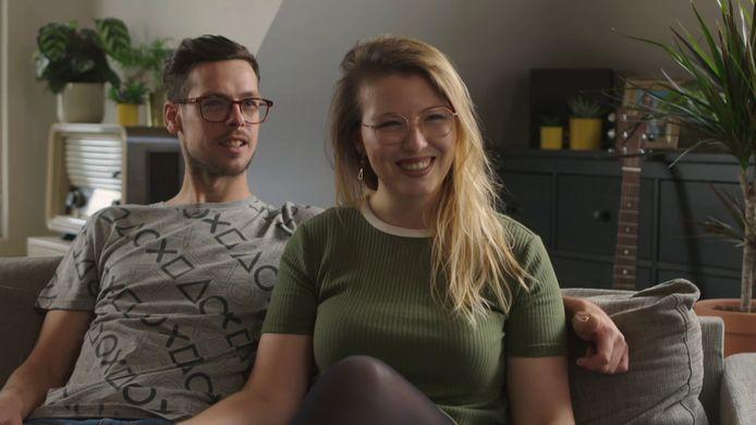 Mila en Mathias uit Aalter in Blind Gekocht.