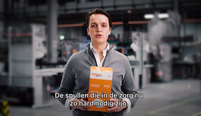 Sywert van Lienden in filmpje van De Hulptroepen Alliantie.