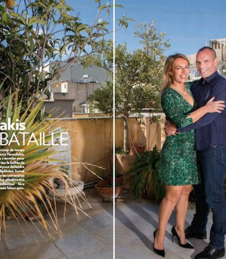 """Varoufakis """"regrette"""" ses photos dans Paris Match"""