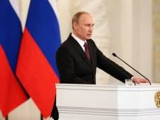 Poutine signe le rattachement de la Crimée à la Russie