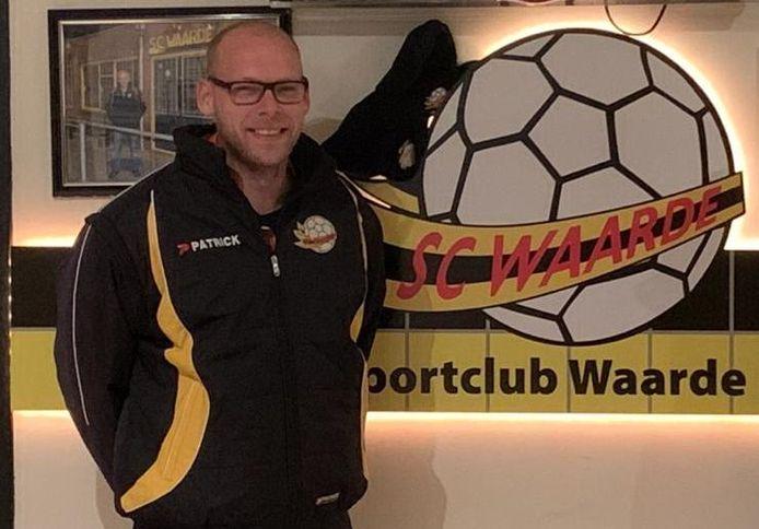Jeroen Bakx, trainer van SC Waarde.