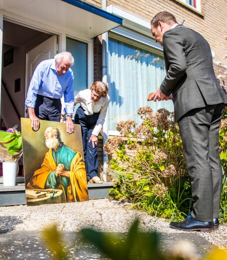 Zo beleefde Bram van Hemmen zijn debuutweek als burgemeester van de Hoeksche Waard