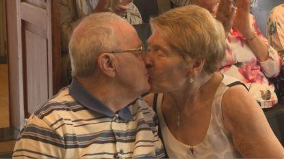 Albert (81) en Liliane (81) leerden elkaar kennen in het rusthuis, nu zijn ze getrouwd