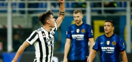 Juventus pakt nog een punt bij Inter na lichte overtreding Dumfries
