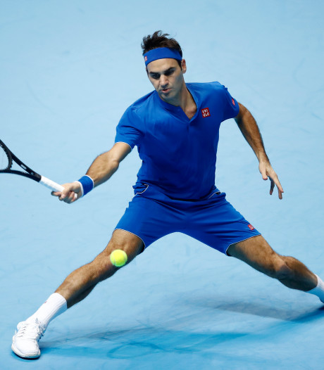 Federer kent valse start bij ATP Finals