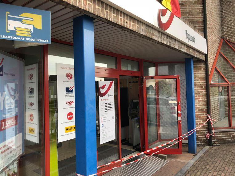 Eind augustus was er nog een mislukte plofkraak in Overpelt. Beeld Marco Mariotti