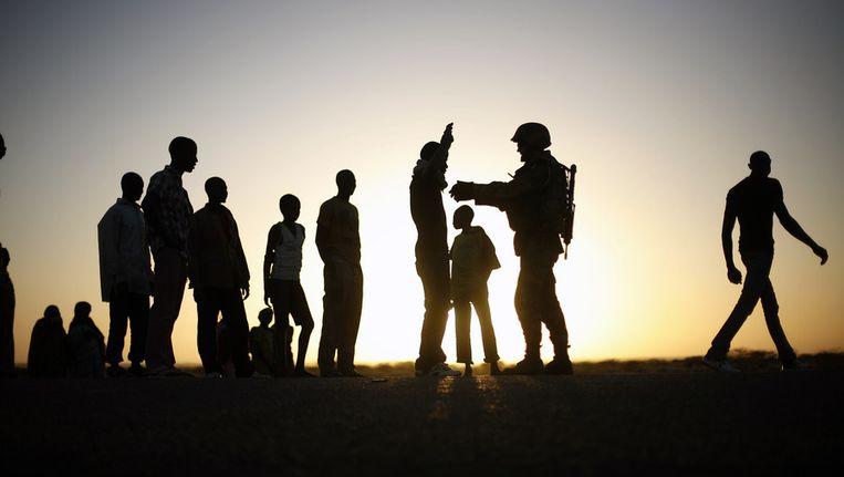 Franse soldaten in Mali. Beeld ap