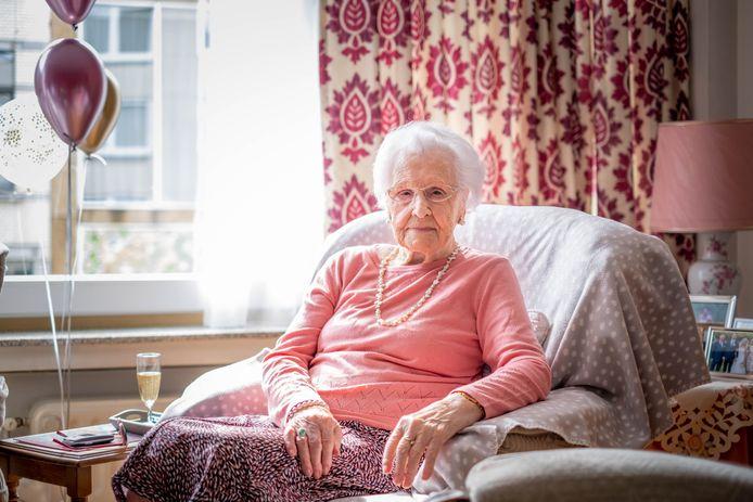Maria Solie viert haar 100ste verjaardag
