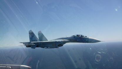 Belgische F-16's onderscheppen Russen die richting Amerikaans oorlogsschip vliegen