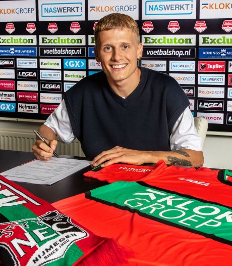 NEC bevestigt transfer van derde Deen: Mattsson tekent voor drie jaar