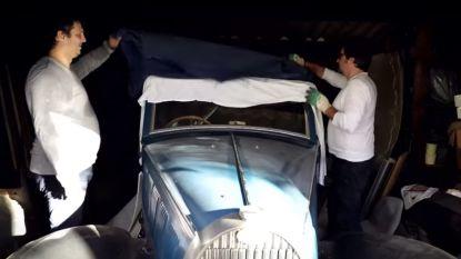 """Zeldzame Bugatti's van één miljoen euro gevonden in oude schuur in Lanaken: """"Eigenaar ging arm door het leven"""""""