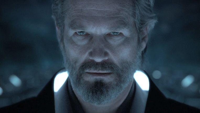 Jeff Bridges in Tron: Legacy. Beeld -
