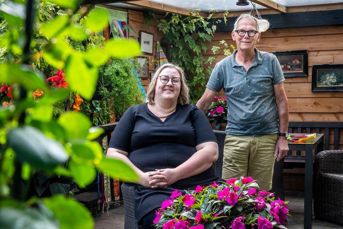 Eva van Gorp en Gerard Debeij van Tejaterwerkgroep 2000 in Asten.