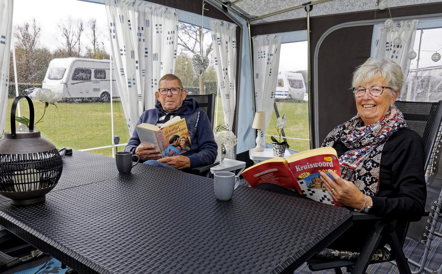 Femke en Jan de Snaijer komen al voor het vijftiende jaar naar Biezenmortel.