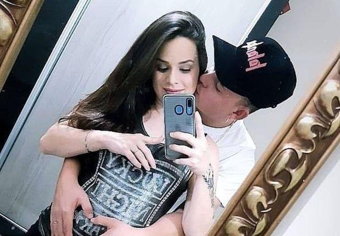 Larissa et son petit ami Diego