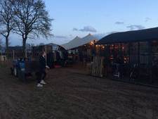 Pop-up restaurant van Big Boys Uden in winterse sferen