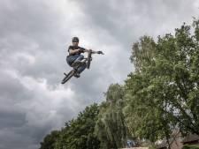 Opknapbeurt BMX-baan Leende