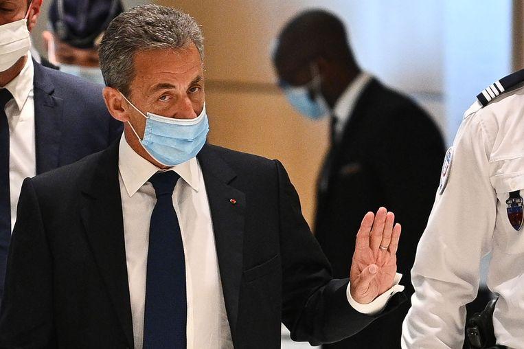 Oud-president Nicolas Sarkozy. Beeld AFP