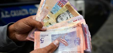 In één klap 'miljonair' met nieuw bankbiljet Venezuela