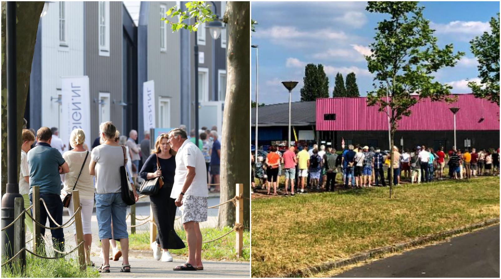 Drukte in Nijverdal en Enschede voor een stempel in het gele boekje van de GGD