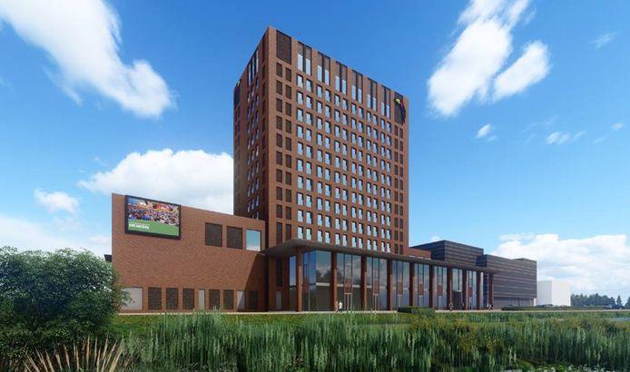 In juni 202 gingen de heipalen de grond in voor het Van der Valk hotel aan de Franklinweg. BAM Bouw en Techniek is begonnen met de bouw van het hotel zelf.