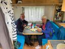 Marijke en Kees IJdo uit Gouda staan deze zomer op camping De Grimberghoeve in Notter.