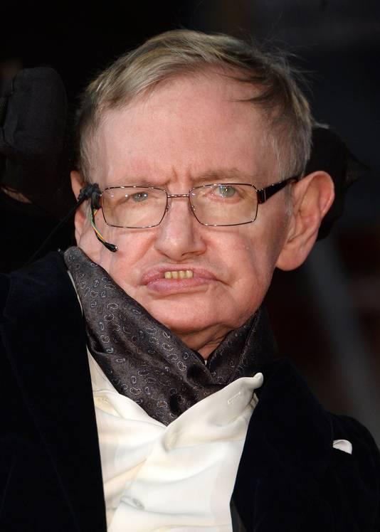 De Britse astrofysicus Stephen Hawking.