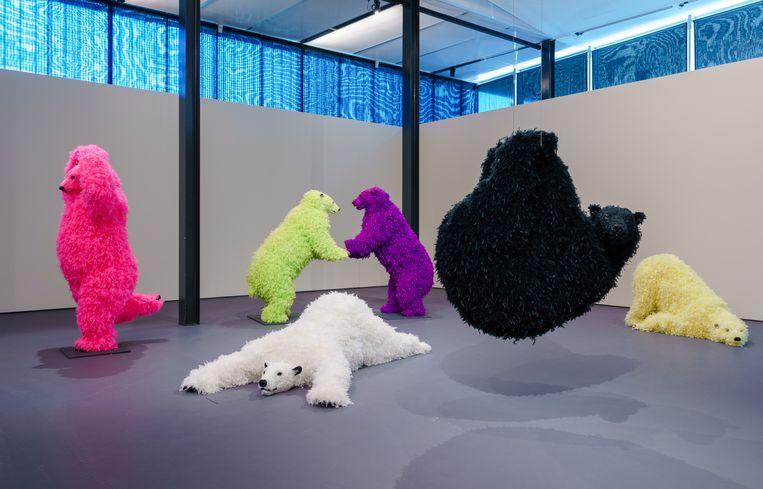 Kunsthal Rotterdam, We Are Animals. Beeld Marco De Swart