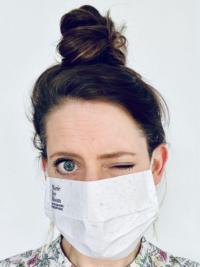 Marianne, graphiste du Studio Pons Ontwerp communication visuelle à Utrecht, se cache derrière cette initiative.