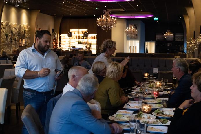 Grieks restaurant Anemos in Elst.