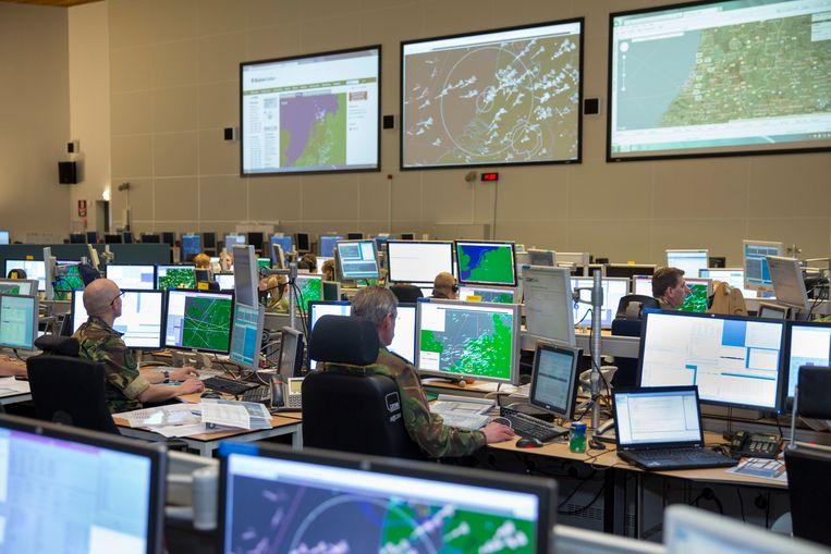 De huidige radar in Nieuw-Milligen stamt uit de jaren zeventig en zou regelmatig uitvallen. Beeld ministerie van Defensie