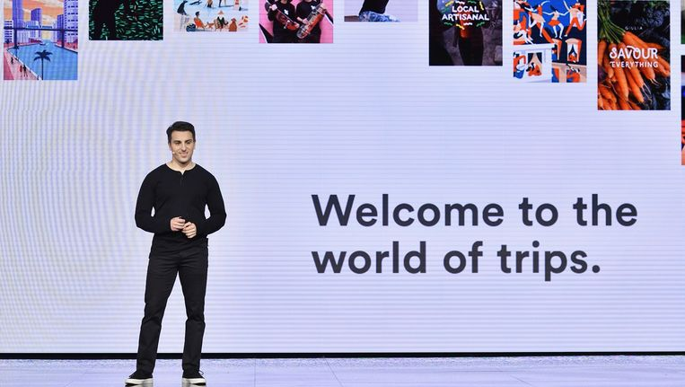 Airbnb CEO Brian Chesky Beeld Getty Images for Airbnb