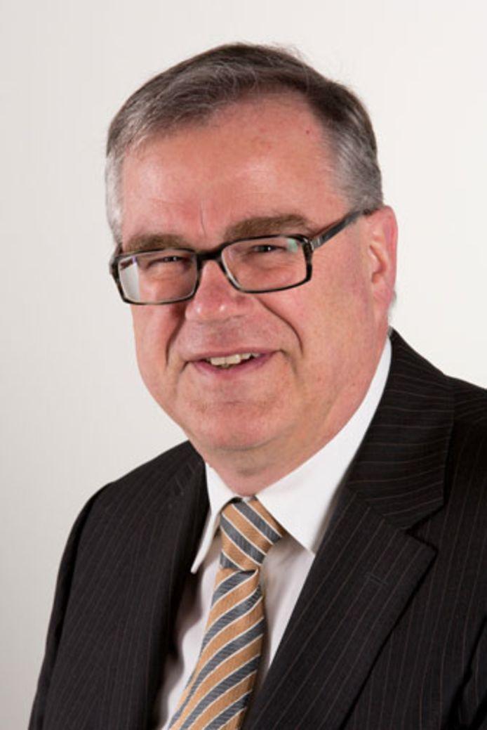 Arie Duijzer, raadslid voor de SGP in Zaltbommel.