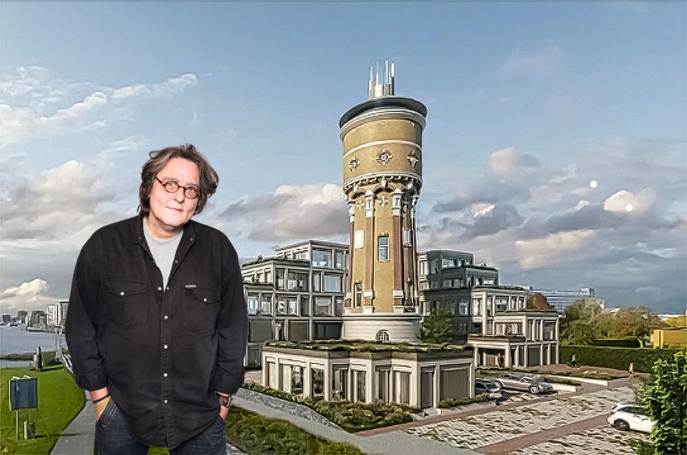 Kees Thies over de watertoren in Zwijndrecht.