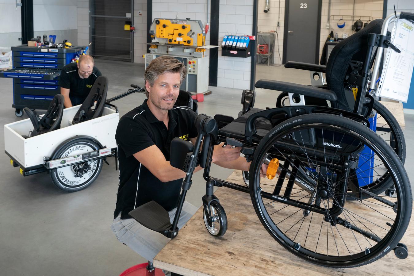 Johan de Rouw van Roam Special Cycles heeft beslist geen spijt van de verhuizing van Ammerzoden naar Hedel.