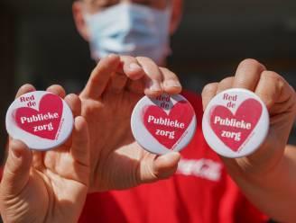 """Vakbonden voeren actie tegen privatisering van de zorg: """"Historische vergissing"""""""