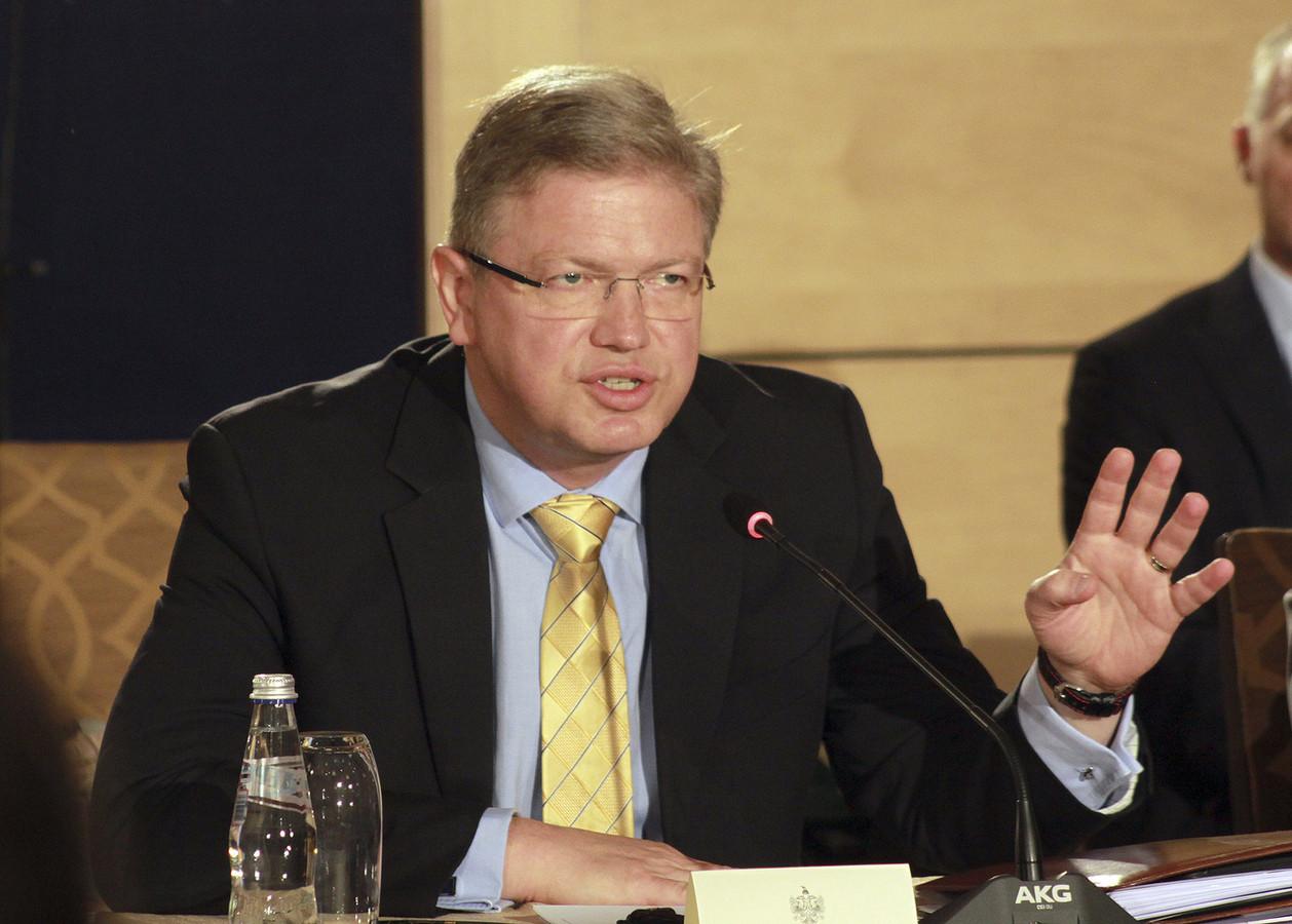 Stefan Füle, commissaire européen à l'Élargissement