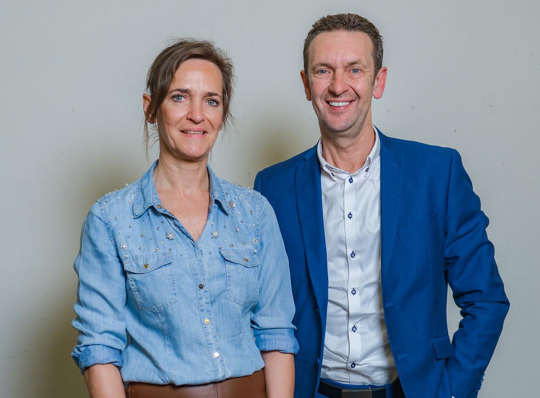 De JBC-tandem: Ann en Bart Claes. Beeld Photo News