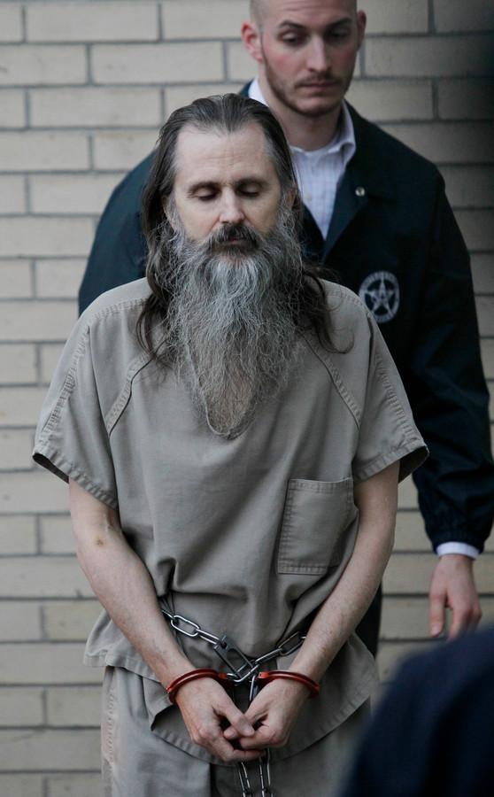 Brian David Mitchell bij een voorleiding in de rechtbank in 2010.