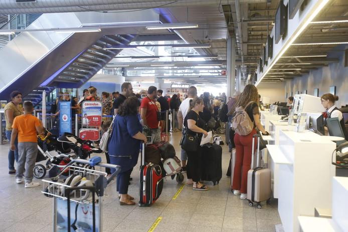 Problemen met bagagebanden Eindhoven Airport