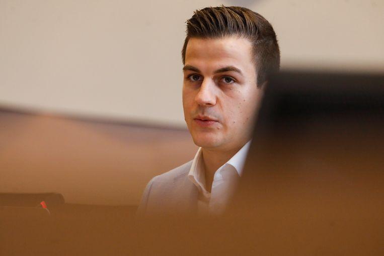 Dries Van Langenhove moet zich onder meer verantwoorden voor inbreuken op de racismewetgeving. Beeld BELGA