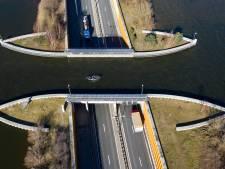 Weg tussen Harderwijk en Flevoland (N302) twee weekenden afgesloten