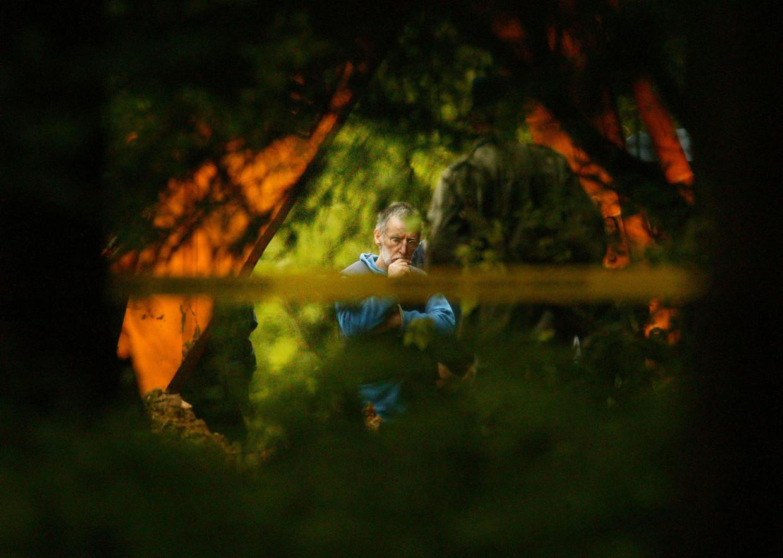 'Seriemoordenaars stoppen niet: Michel Fourniret verbergt een massagraf.' Beeld Corbis via Getty Images