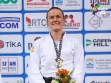 Groesbeekse judoka Geke van den Berg pakt brons in Minsk