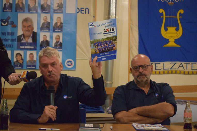 Frank Bruggeman en zijn VLD-SD krijgen ongelijk van de Raad van State.