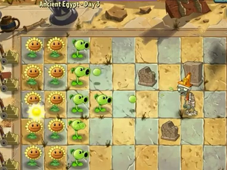 Beeld Plants v.s Zombies 2. Beeld YouTube