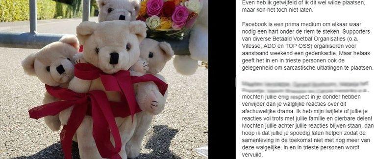 Een voorbeeld van een heksenjacht op een openbaar Facebookprofiel.