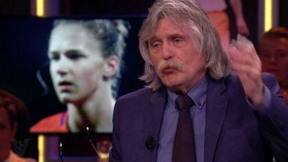 """Johan Derksen zet (andermaal) kwaad bloed: """"Het vrouwenvoetbal stelt geen reet voor"""""""